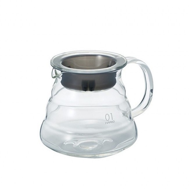HARIO V60 RANGE SERVER 360ML CLEAR